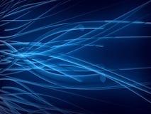 фантазия чужеземцев голубая подводная Стоковая Фотография RF
