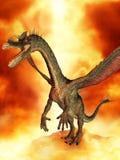 фантазия дракона Стоковые Фото