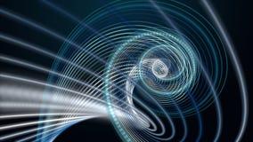 Фантастическая анимация с объектом нашивки частицы в замедленном движении, 4096x2304 петле 4K