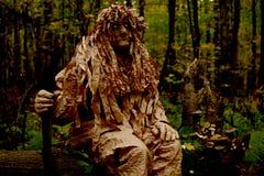 Фантастическая тварь защищает лес Стоковые Фото