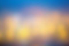 Фантастическая уютная предпосылка конспекта нерезкости, световой эффект стоковые изображения