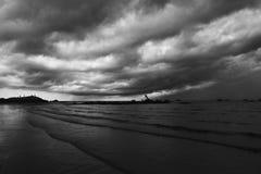 Фантастические облака Стоковое Изображение RF