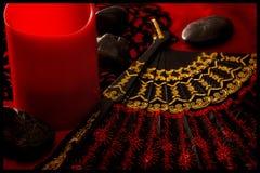 Фантастический в красном цвете Стоковые Фото