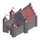 Фантастический замок Стоковое Изображение
