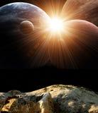 Фантастический красивый пирофакел Стоковые Фото