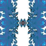 Фантастический флористический орнамент Стоковые Фотографии RF