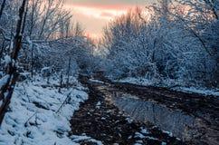 Фантастичная русская зима 777 стоковое изображение rf