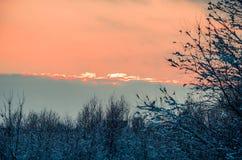 Фантастичная русская зима 777 стоковая фотография