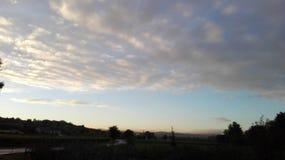 Фантастичное небо 7 Стоковые Изображения RF