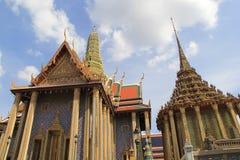 Фантастичный грандиозный дворец и Wat Phra Kaeo - Бангкок Стоковая Фотография RF