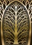 Фантастичный золотой строб Стоковое фото RF