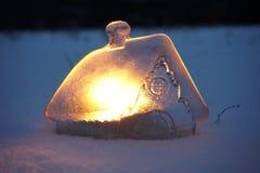 Фантастичный домашний лед Стоковые Фотографии RF