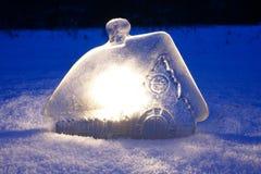 Фантастичный домашний лед Стоковые Изображения RF
