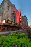 Фантастичный театр Fox в Сент-Луис стоковые фотографии rf