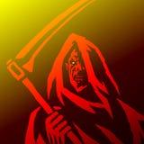 Фантомный жнец Изолированная иллюстрация вектора Стоковые Фотографии RF