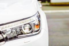 Фара автомобиля в фронте Стоковая Фотография RF