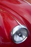 Фара автомобиля год сбора винограда Стоковая Фотография