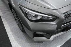 Фара автомобиля, новое Infiniti Q50 Стоковые Фотографии RF
