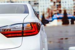 Фара автомобиля Sagnay влажная Стоковое Фото