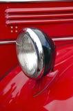Фара автомобиля античных пожарных Стоковое Изображение RF