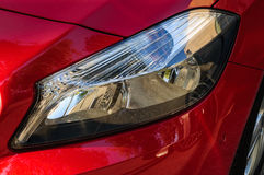 Фара автомобиля Стоковое фото RF