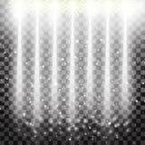 Фара вектора Световой эффект Стоковое Изображение RF