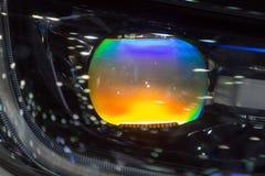 Фара или headlamp автомобиля Стоковое Фото