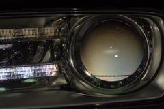 Фара или headlamp автомобиля Стоковая Фотография RF