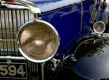 фара классики автомобиля Стоковое Изображение RF