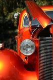 фара классики автомобиля Стоковая Фотография RF