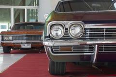 Фара классического автомобиля, Шевроле Стоковое Изображение RF