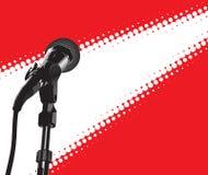 фара микрофона иллюстрация штока