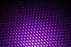 Фара на фиолетовом волокне углерода Стоковое фото RF