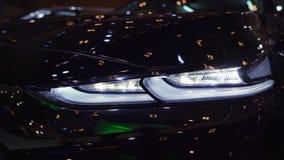 Фара нового автомобиля Hyundai Санта-Фе видеоматериал