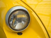 Фара ретро автомобиля Стоковая Фотография