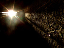 фара темной комнаты Стоковые Фото