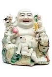 фарфор Будды цветастый Стоковые Фото
