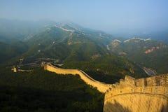 Фарфор Великой Китайской Стены badaling стоковые изображения