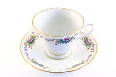 фарфор выходит чай Стоковые Фото