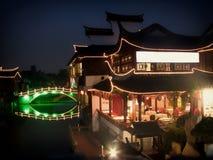 Фарфор городка Qibao старый Стоковые Изображения RF