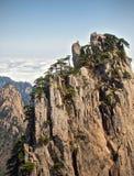 Фарфор гор Huangshan Стоковое Изображение RF