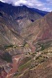 фарфор каньона грандиозный Стоковое Изображение
