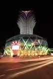 фарфор Макао казино стоковое изображение
