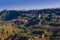 Фарфор обрабатываемой земли весны стоковое фото rf