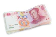 фарфор 100 один yuan Стоковое фото RF