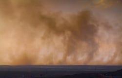 Фарфор пыльной бури Стоковые Изображения RF