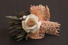 Фарфор розы апельсина Стоковое Фото