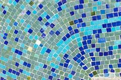 Фарфор соединяет предпосылку мозаики сделанную из сломленного фарфора стоковое изображение
