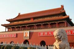 Фарфор Тяньаньмэня Пекина Стоковые Изображения