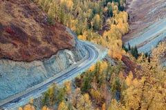 фарфор цветастый xinjiang осени Стоковые Изображения RF